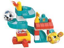 Blocos de Montar Mega Blocks Peek a Block - Mattel 35 Peças
