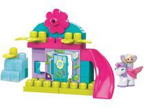 Blocos de Montar Mega Bloco Fadas das Flores - Mattel 38 Peças