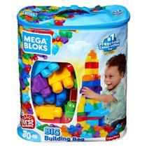 Blocos de Montar - Mega Bloks - Sacola com 80 Peças - Fisher-Price - Fisher Price