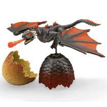 Blocos de Montar - Mega Construx - Game of Thrones - Ovo de Dragão - Drogon - Mattel -