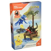 Blocos de Montar - Mega Construx - Playset de Batalha - Pokémon - Robball Vs Flamiau - Mattel -