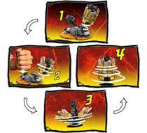 Blocos De Montar Ninjago - Rajada De Spinjitzu - Cole Lego D 70685 -