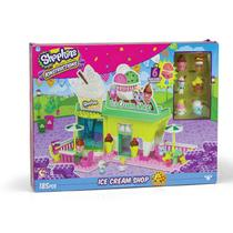 Blocos De Montar Shopkins Kinstruction Ice Cream Shop 4128 Dtc -