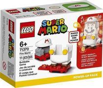 Blocos De Montar Super Mario De Fogo Power Up 11 Peças Lego -