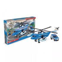 Blocos Montar Taticas Aereas 314 Pcs Helicopt Carro Xalingo -