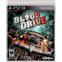 Blood Drive - Ps3 - Activision