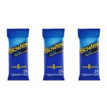 Blowtex Action Preservativo C/6 (Kit C/03) -