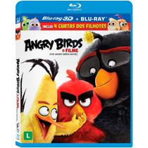 Blu Ray 3d + Blu Ray - Angry Birds O Filme - Sony pictures