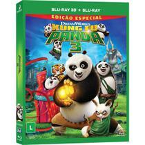 Blu-ray 3D + Blu-ray Kung Fu Panda 3 - Dreamworks