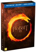 Blu-Ray 3D Coleções o Hobbit - A Trilogia - 12 Discos - Warner home video