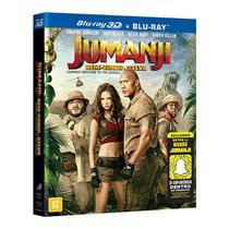 Blu-Ray + Blu-Ray 3D - Jumanji: Bem Vindo À Selva - Sony Pictures
