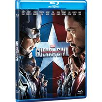 Blu-ray - Capitão América 3 - Guerra Civil - Marvel