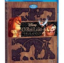 Blu-ray Coleção O Rei Leão - Trilogia - Walt disney (sonopress)