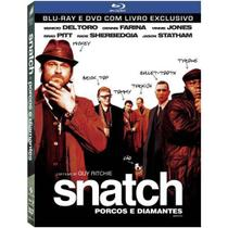 Blu-Ray + DVD - Snatch - Porcos e Diamantes - Sony pictures