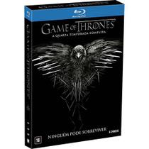 Blu-Ray - Game Of Thrones - 4ª Temporada Completa - Warner Bros.
