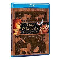 Blu-ray o rei leão - trilogia - Disney