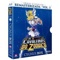 Blu-ray Os Cavaleiros Do Zodíaco - Série Clássica Remasterizada, V.3 - IMAGEM