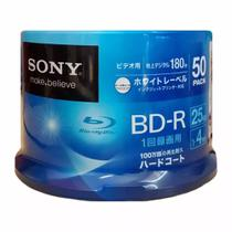 Blu-ray Sony 4x 25gb Printable - 50 Unidades
