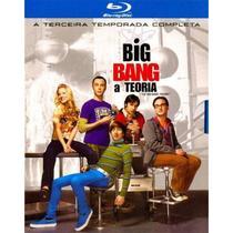 Blu-ray - The Big Bang Theory - 3ª Temporada Completa - Warner