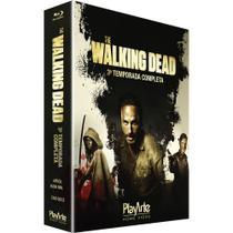 Blu-Ray - The Walking Dead - 3ª Temporada - 4 Discos - Playarte
