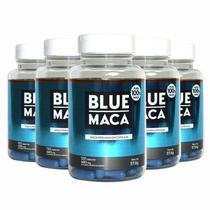 Blue Maca - 120 Cápsulas - Promoção 5 Unidades -