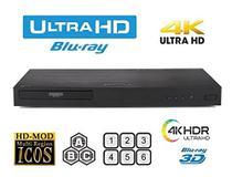 Bluray LG 4k Ubk80 3D Multi-região- Importado -