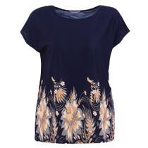 Blusa Bata Feminina Plus Size Estampada - Fmsp