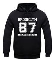 Blusa de Frio Brooklyn 87 Moletom Casaco Unissex - Bugado