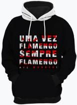 Blusa de Frio Flamengo Sempre Moletom Unissex Casaco - Bugado