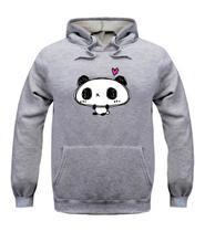Blusa de Frio Panda Love Moletom Casaco Unissex - Bugado