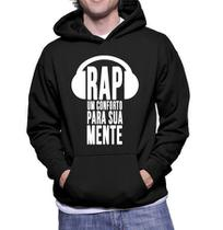 Blusa de Frio Rap Rapper Musica Moletom Unissex Casaco - Bugado