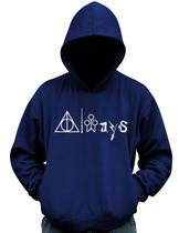 Blusa De Moletom Always Harry Potter Hogwarts Casaco