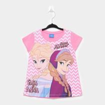 Blusa Infantil Fakini Frozen Sisters Forever Feminina -