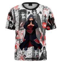 Blusa Itachi Naruto Anime Infantil E Adulto Camiseta Unissex - Aguia Gamer