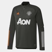 Blusa Manchester United Treino 20/21 Adidas Masculina -