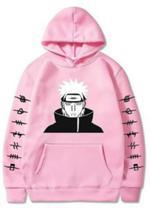 Blusa moletom canguru unissex Naruto Anime Pain - Player