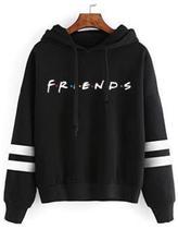 Blusa moletom canguru unissex serie Friends comedia - Player
