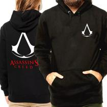 Blusa Moletom Casaco De Frio Assassins Creed Serie Unissex REF 83 - Bugado