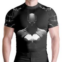 Blusa Rash Guard Batman MC ATL - Atlética Esportes