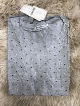 Blusa T-shirt Feminina Baby Look Estampas Coração pequeno Verão - Seven