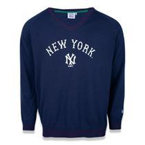Blusa Tricô New Era MLB New York Yankees Reborn Heritage Word Masculina -
