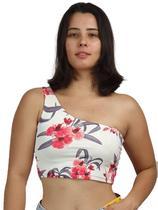 Blusinha Cropped Alça Ombro Único Feminina K2B -