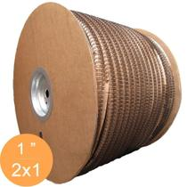 Bobina Wire-o 2x1 Preto 1 para 200 fls 4.500 anéis - Marpax