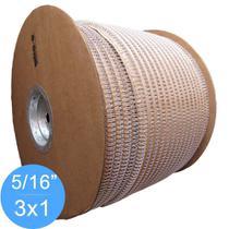 Bobina Wire-o 3x1 Branco 5/16 para 50fls 63.000 anéis - Marpax