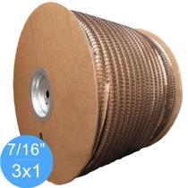 Bobina Wire-o 3x1 Preto 7/16 para 85 fls 34.500 anéis - Marpax