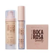 Boca Rosa Beauty By Payot Kit pele Perfeita (Base 2+Corretivo 2+Pó Solto 2) -