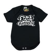 Body Banda de Rock 100 Algodão Ozzy Osbourne - Bebê