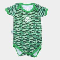 Body Bebê Palmeiras Camuflado - Rêve dor