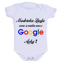 Body Divertido - Madrinha Google - Kalundu kids