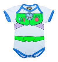 Body Fantasia 100 Algodão Buzz Lightyear - Bebê